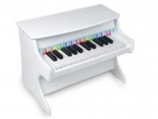 Žaislinis pianinas BALTAS