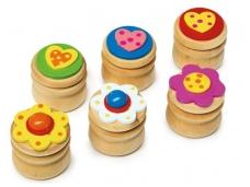 Dantukų dėžutės ŠVELNUMAS (6 vnt)