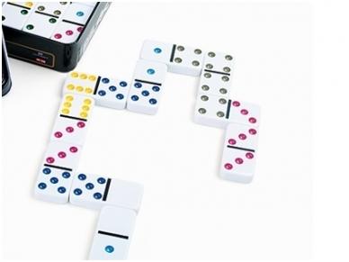 Domino žaidimas 6 SPALVOS 2