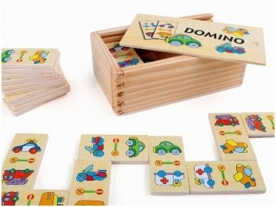 Domino žaidimas MAŠINĖLĖS