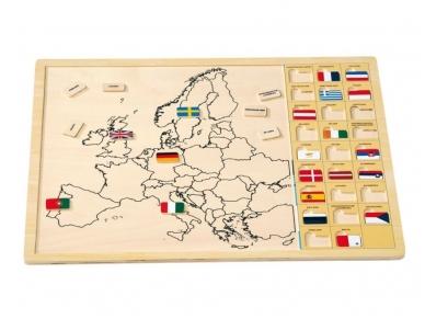 Dėlionė EUROPOS ŽEMĖLAPIS 2