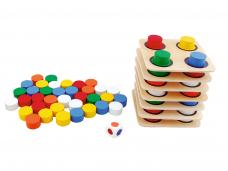 Edukacinis žaidimas SPALVŲ PIRAMIDĖ