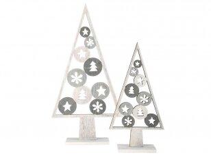 Kalėdinė dekoracija EGLĖS (2vnt)