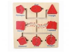Lavinamasis žaidimas FORMŲ LABIRINTAS