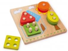 Lavinamasis žaislas FORMŲ KIEMAS