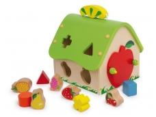 Lavinamasis žaislas VAISIŲ NAMAS
