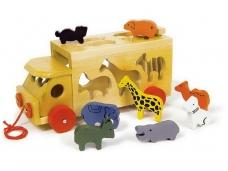 Lavinamasis žaislas ZOO MAŠINA
