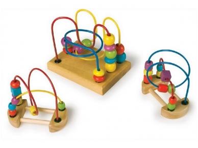 Lavinamųjų žaislų rinkinys NATŪRALUMAS