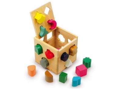Lavinamasis žaislas FIGŪRŲ KUBAS