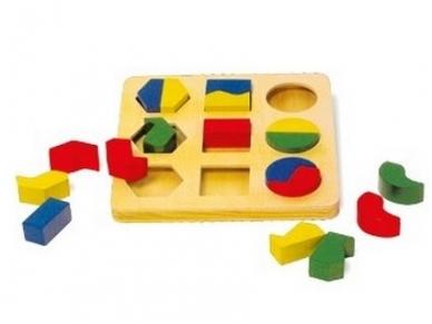 Lavinamasis žaislas GEOMETRINĖS FIGŪROS 2