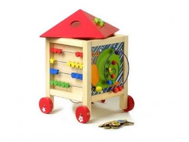 Daugiafunkcinis žaislas ŽAIDIMŲ NAMAS 3