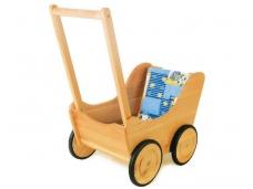 Lėlių vežimėlis - stumdukas NOSTALGIJA