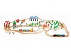 Medinė traukinių trasa TRAUKINIŲ EISMAS