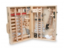 Meistro įrankių lagaminas DELUXE