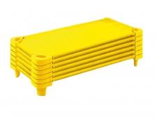 Mobili lovelė geltona