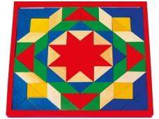 Mozaika SPALVOTOS KALADĖLĖS