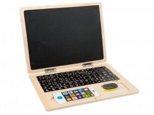 Mokomasis žaislas Kompiuteris-magnetinė lenta