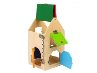 Mokomasis žaislas SPYNŲ NAMAS 8