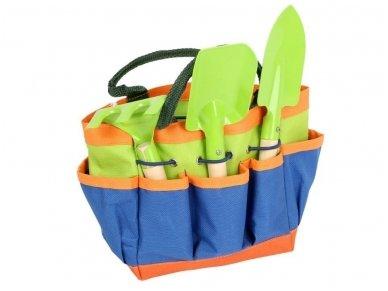 Sodo įrankiai su krepšiu 2