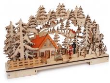 Šviečianti dekoracija MIŠKAS