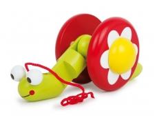 Traukiamas žaislas SRAIGĖ ELI