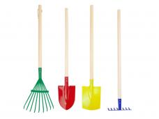 Vaikiški sodo įrankiai KETURI (4vnt)