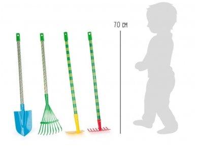 Vaikiški sodo įrankiai KETURI (4vnt) 2