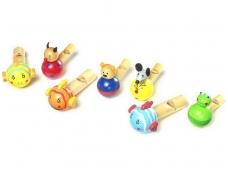 Žaislinių švilpukų rinkinys GYVŪNĖLIAI