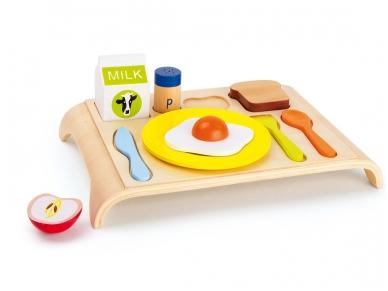Žaislinis maisto rinkinys PUSRYČIŲ STALIUKAS